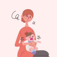 子育て中のママ